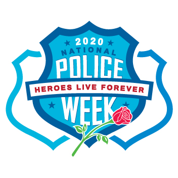National Police Week 2020 Logo