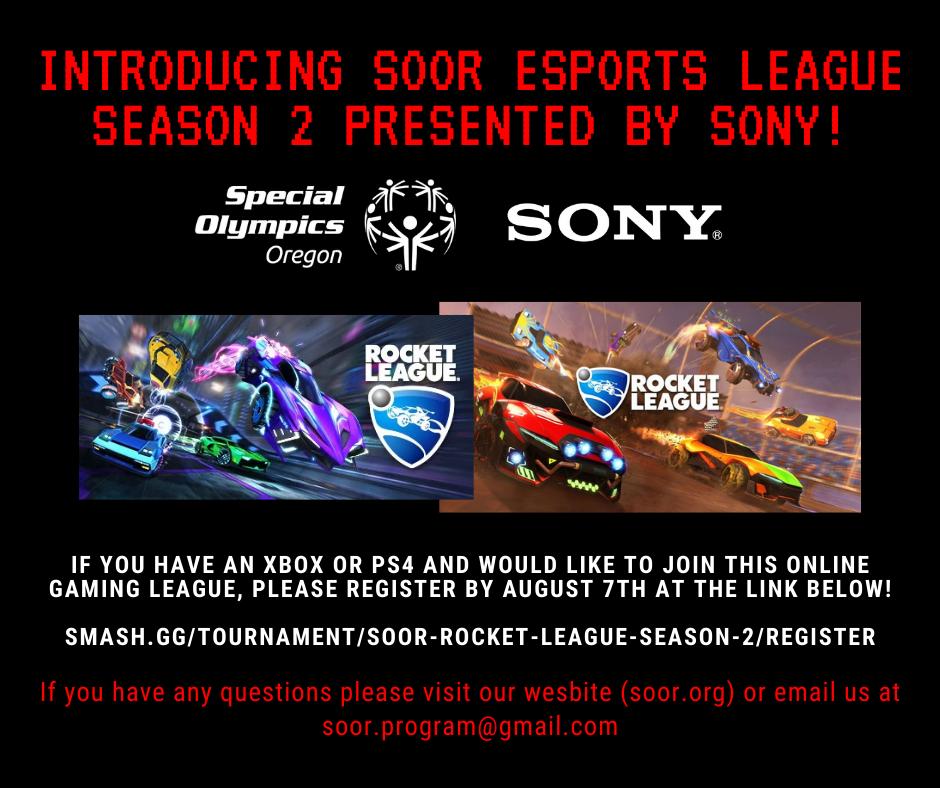 SOOR Esports League Season 2 Presented by Sony!