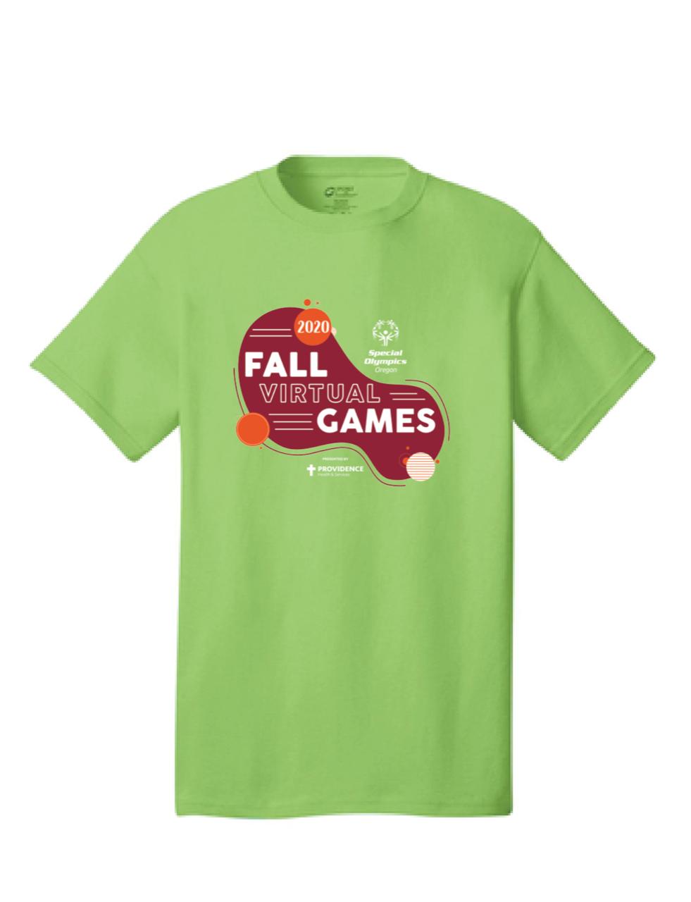 Green Fall Virtual Games TShirt